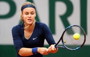 Виктория Азаренко уступила словачке Анне Шмидловой во втором круге Ролан Гаррос