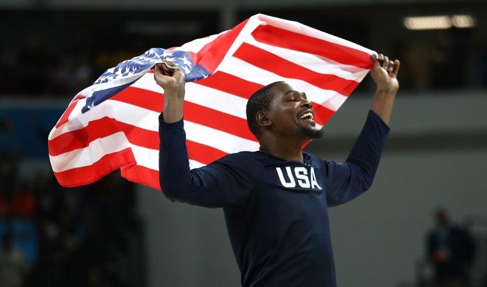 Кевин Дюрант — лучший бомбардир олимпийской сборной США за всю её историю