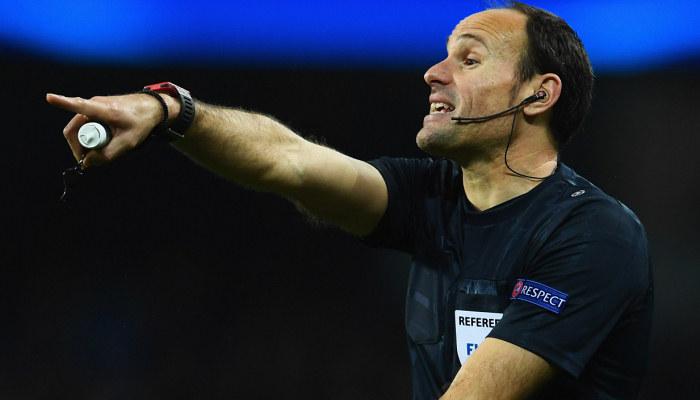 Стали известны арбитры на финальные матчи Лиги чемпионов и Лиги Европы