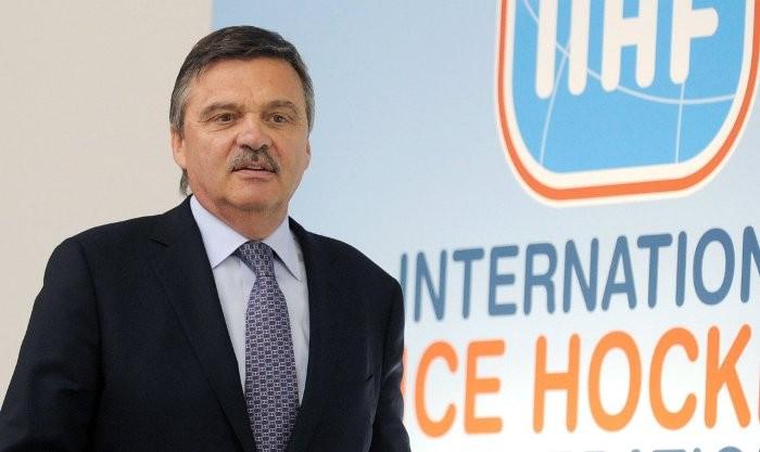 Рене Фазель, IIHF
