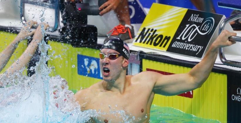 Спортсмены из США завоевали шесть медалей в плавании