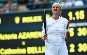 Виктория Азаренко снялась за шаг до финала с турнира Qatar Open из-за травмы спины