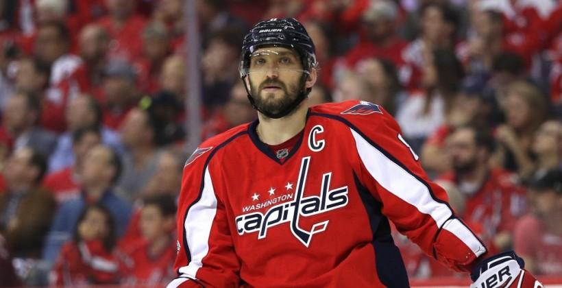 Овечкин отметился 717-й шайбой и сравнялся с Эспозито в списке лучших снайперов НХЛ