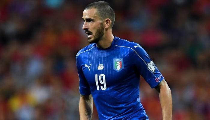 Леонардо Бонуччи установил рекорд сборной Италии по количеству поединков на Евро