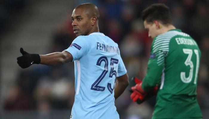 Фернандиньо продлит контракт с Манчестер Сити