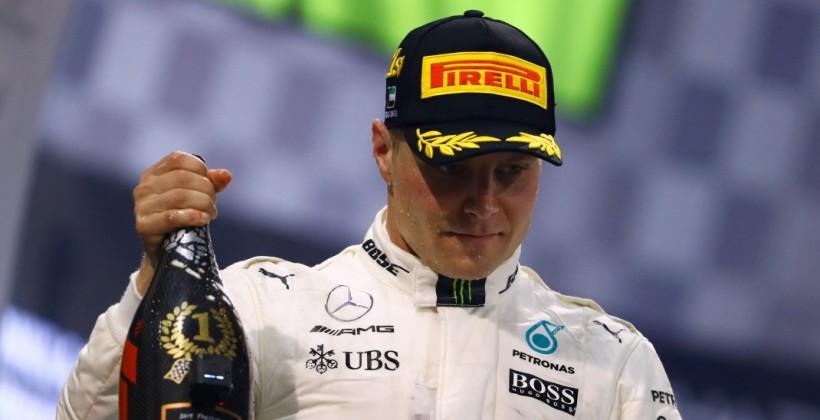 Валттери Боттас будет стартовать первым на Гран-при Айфеля