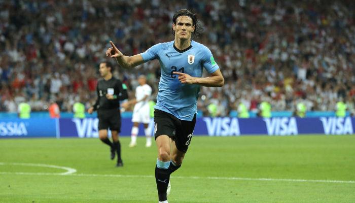 Кавани Уругвай Португалия ЧМ-2018 Россия Роналду