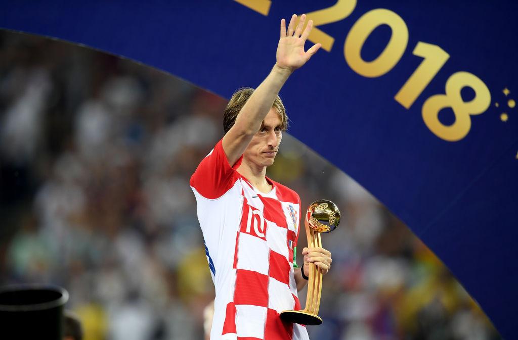 Модрич Хорватия чемпионат мира футбол награда