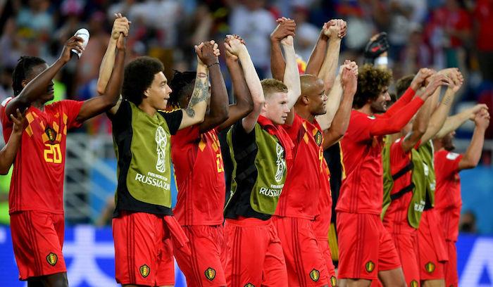 Сборная Бельгии чемпионат мира 2018