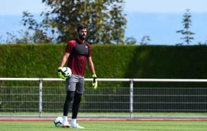 Алиссон Бекер вернулся к тренировкам после травмы плеча