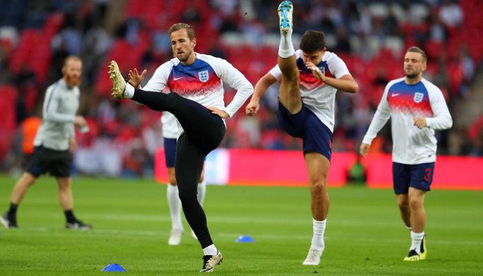 Кейн повредился на тренировке сборной Англии и может не сыграть с Бельгией