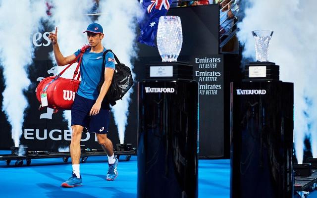 Алекс де Минаур выиграл первый турнир АТР в новом году