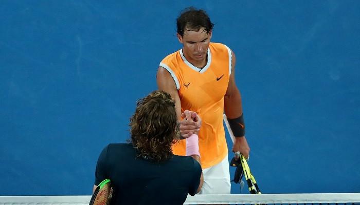 Надаль Циципас Australian Open