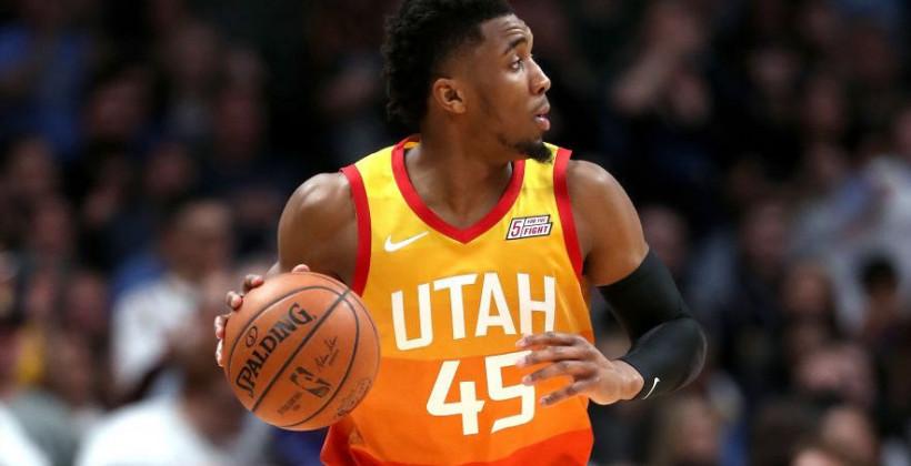 Митчелл НБА Юта Джаз