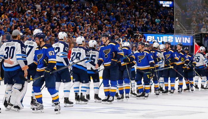 Блюз Джетс НХЛ