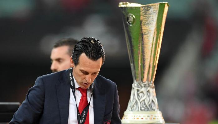 Эмери Арсенал Лига Европы