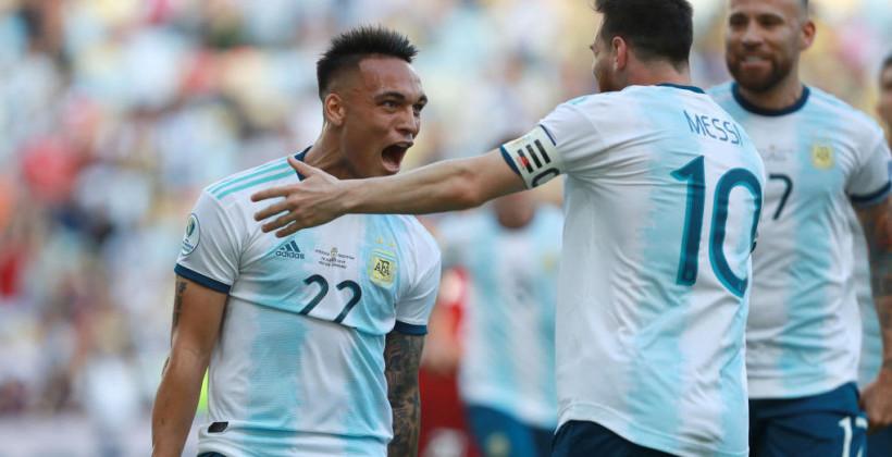 Сборная Аргентины стала финалистом Копа Америка