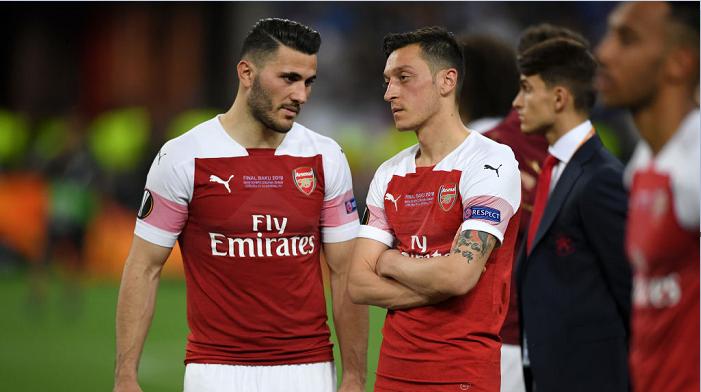 Месут Озил не сыграет в групповом этапе Лиги Европы