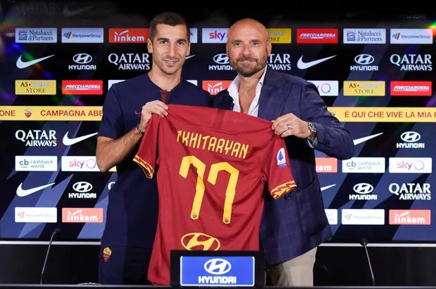 Генрих Мхитарян продлил контракт с Ромой ещё на один сезон