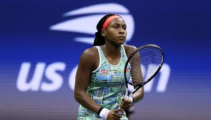 Кори Гауфф US Open