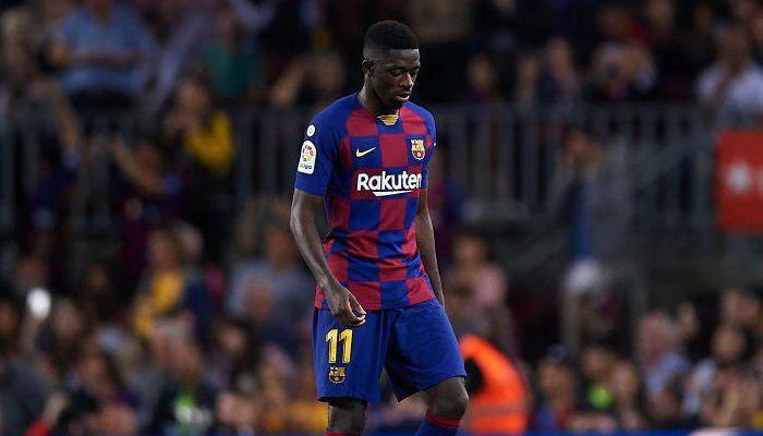 Барселона намерена в январе продать Усмана Дембеле