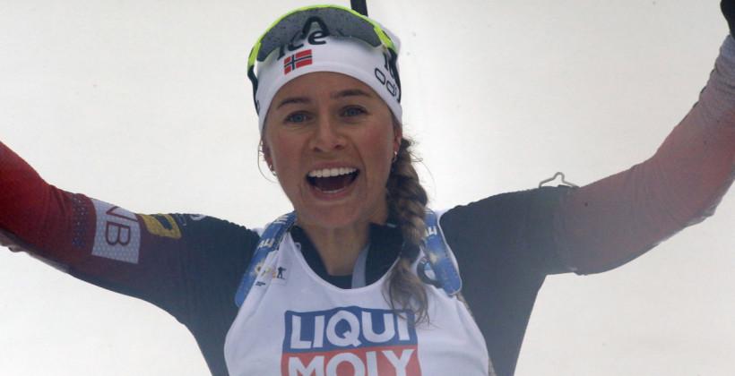 Тирил Экхофф выиграла женский спринт в Нове-Место