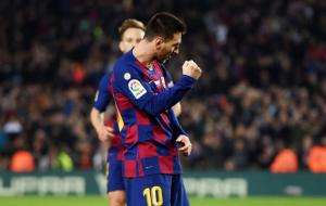 Лионель Месси — лучший бомбардир финалов Кубка Испании