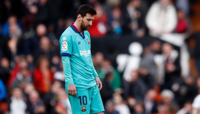 Месси Барселона поражение