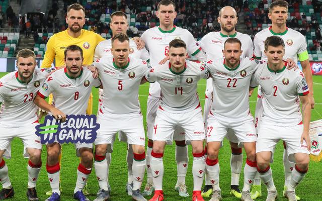 Лисакович, Яблонский и Наумов в стартовом составе сборной Беларуси на матч с командой Грузии