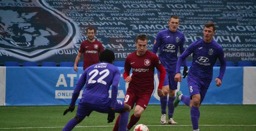 Витебск минимально обыграл Энергетик-БГУ и вышел в четвертьфинал Кубка Беларуси