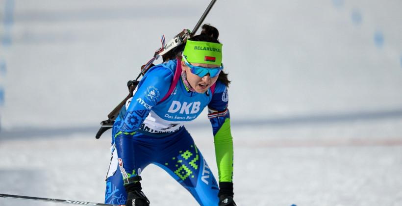 Женская сборная Норвегии выиграла эстафету в Поклюке