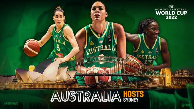 Женский чемпионат мира-2022 по баскетболу пройдет в Австралии