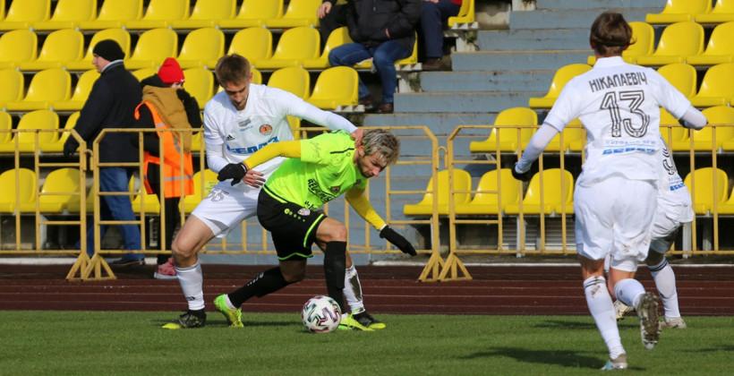 Торпедо-БелАЗ в компенсированное время выиграло у солигорского Шахтера