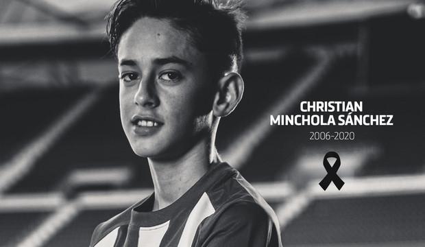 Футболист академии Атлетико умер в возрасте 14 лет
