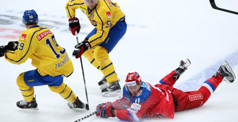 Хоккей Швеция_Россия