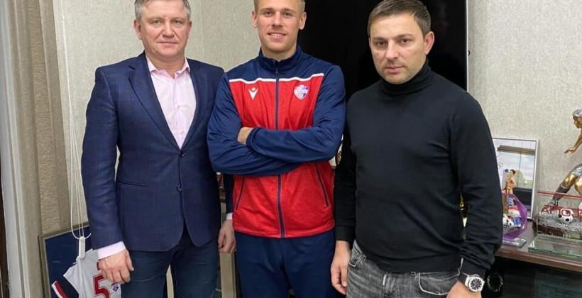 Экс-защитник Черноморца Рыжук перешел в ФК Минск