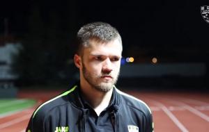 Роман Бегунов: «Нам надо продолжать не витать в облаках. Мы очень болезненно получили по шапке в Кубке»