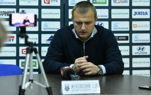 Виталий Жуковский: «Наверное, не самая рейтинговая команда, но она находится вверху — и наш прямой конкурент. Но все равно было сложно»