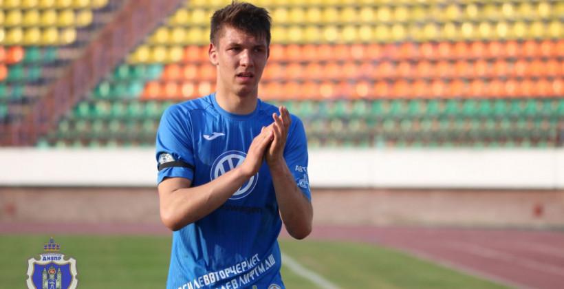 Владислав Федосов вернулся в Днепр