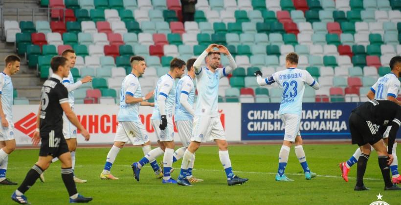 Минское Динамо не проигрывает в чемпионате на протяжении десяти матчей