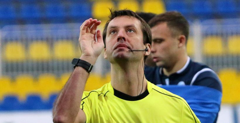 Матч брестского Динамо и БАТЭ рассудит бригада Алексея Кульбакова