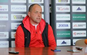 Дмитрий Мигас: «Витебск имел преимущество. Но, как видно и из наших матчей, не всегда при хорошей игре приходит результат»