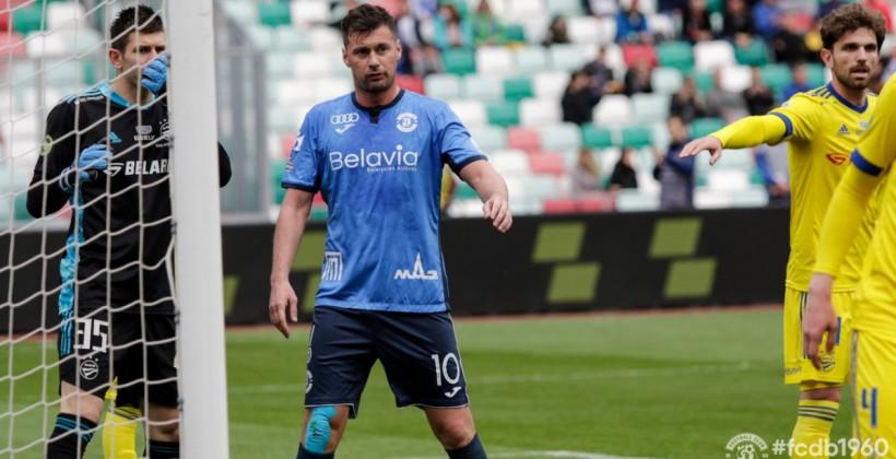 Милевский в запасе на матче против Белшины