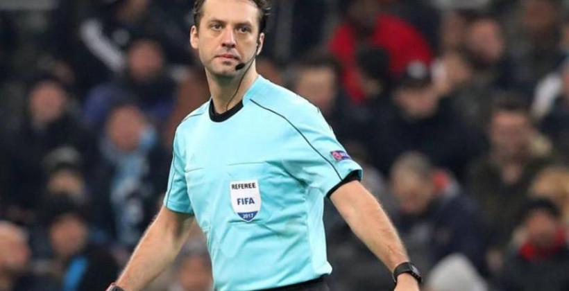 УЕФА заменил белорусскую бригаду арбитров во главе с Кульбаковым на матче Лиги чемпионов между Зальцбургом и Баварией