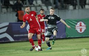 Казаишвили, Джигаури и Лобжанидзе в расширенном списке сборной Грузии на матч квалификации чемпионата Европы