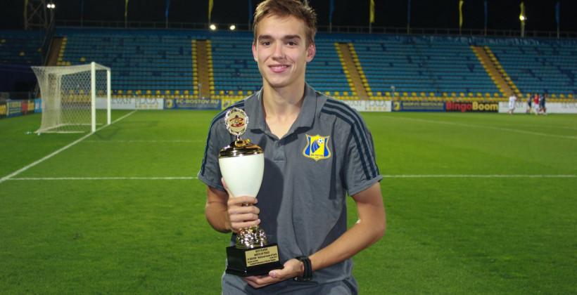 Белорусский полузащитник Владимир Медведь продолжит карьеру в молодежной команде Ротора