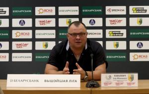 Игорь Ковалевич: «К сожалению, не удалось забить. Имели преимущество… Не хватало реализации»