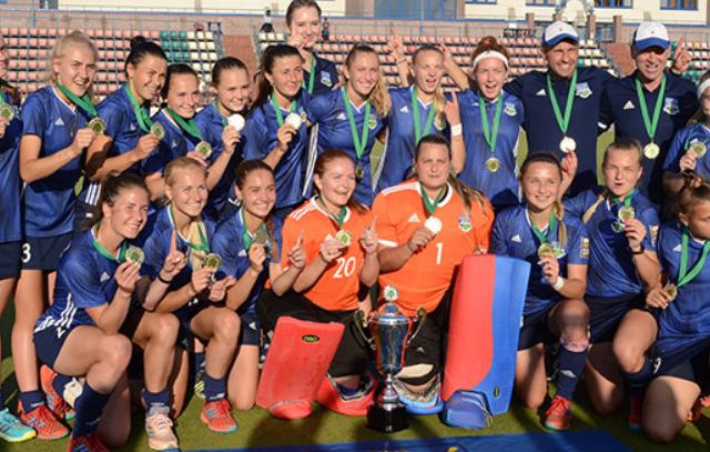 Минск стал чемпионом Беларуси по хоккею на траве