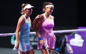 Арина Соболенко и Элиз Мертенс пробились в полуфинал парного разряда турнира в Остраве