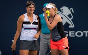 Арина Соболенко и Элиз Мертенс пробились в четвертьфинал парного разряда в Остраве